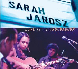 Sarah Jarosz Live EP Cover LG